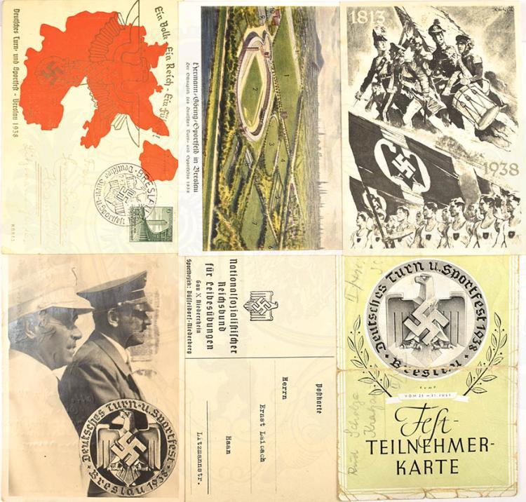 DEUTSCHES TURN- UND SPORTFEST BRESLAU 1938