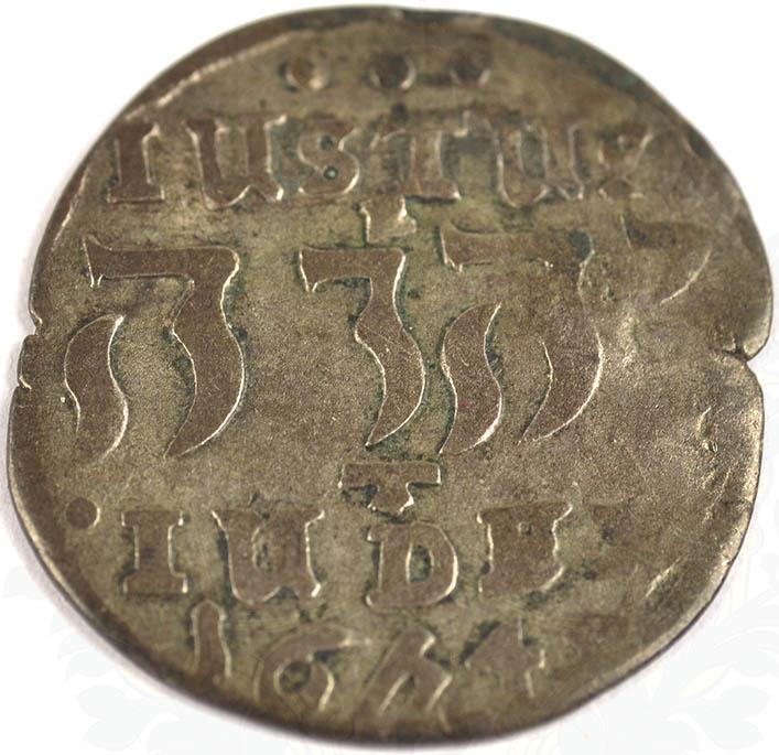 4 SKILLING KOPENHAGEN 1645