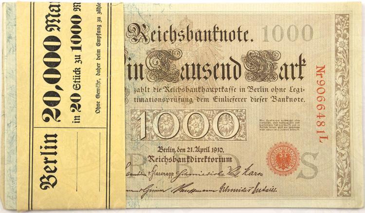1000 MARK, 21.4.1910