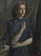 ENGELBERT VAN ANDERLECHT (1918-1961) Dame in interieur, 1940