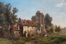 CARL VON DER HELLEN (1843-1902)