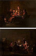 JOHAN HENDRIK BOSHAMER (1775-1862) The letter. Musicians. Panel. A pa