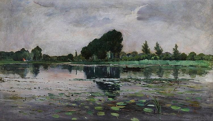 AUGUST DE BATS (1856-1937)