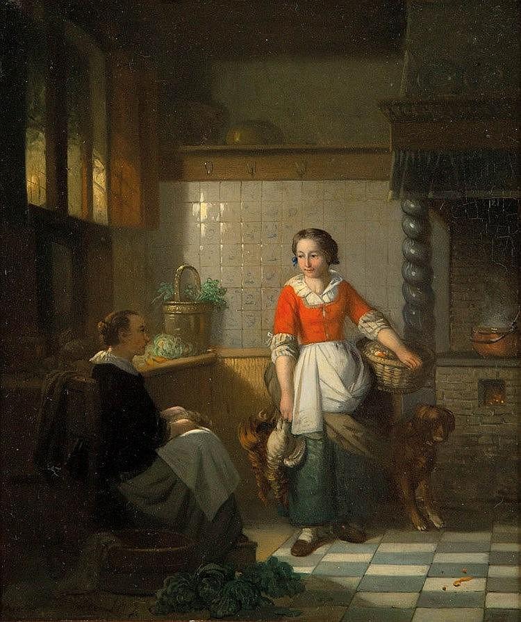 ADRIEN FERDINAND DE BRAEKELEER (1818-1904)