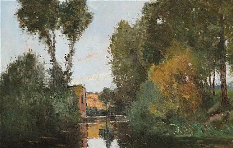 EDMOND DE SCHAMPHELEER (1824-1899)