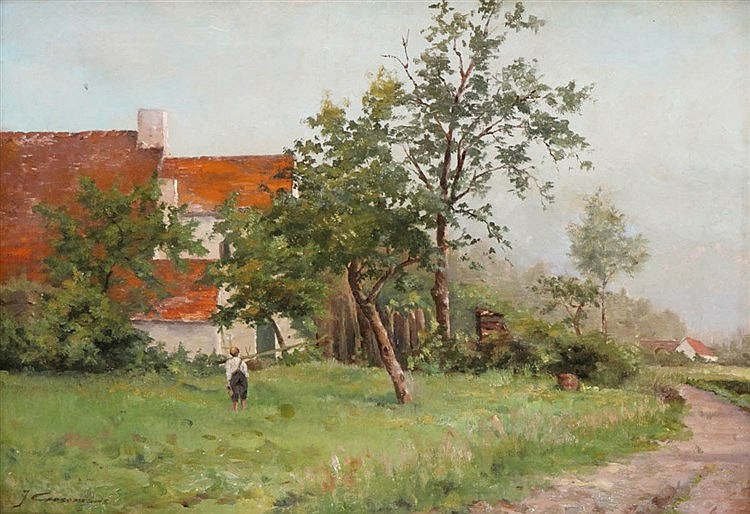 JOSEPH COOSEMANS (1828-1904)