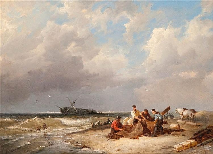 PIETER CORNELIS DOMMERSHUIJZEN (1834-1908)