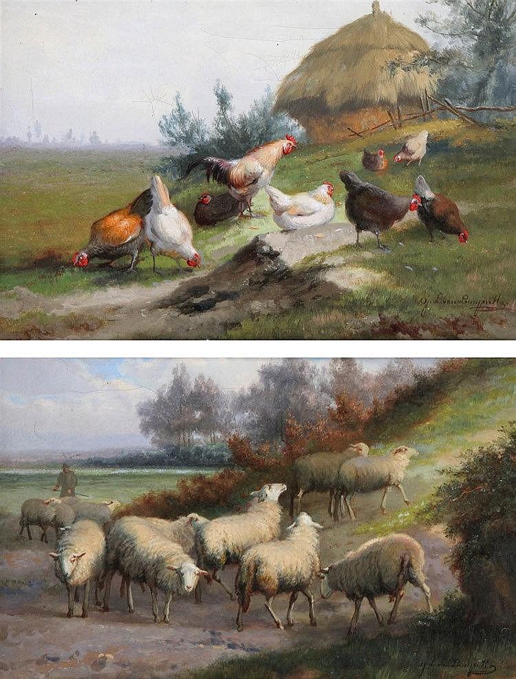JAN LEOPOLD VAN LEEMPUTTEN (1841-1902)