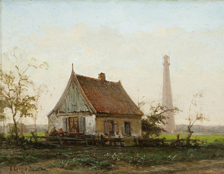 CHARLES JOSEPH GRIPS (1825-1920)