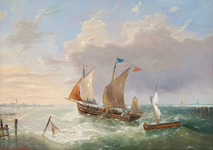 CHARLES LOUIS  VERBOECKHOVEN (1802-1884)
