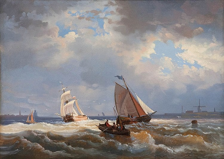 WILLEM GRUYTER JUNIOR (1817 - 1880) to be attributed to