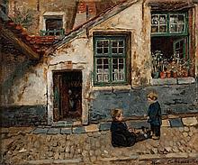 HENRI DE BRAEKELEER (1840-1888)