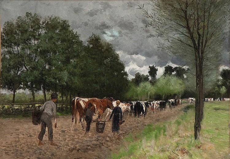 EMILE CLAUS (1849-1924)