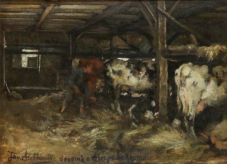 JAN STOBBAERTS (1838-1914)