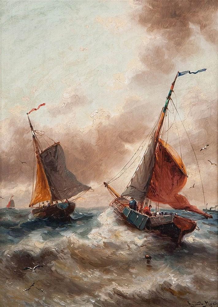 AUGUSTE MUSIN (1852-1920)