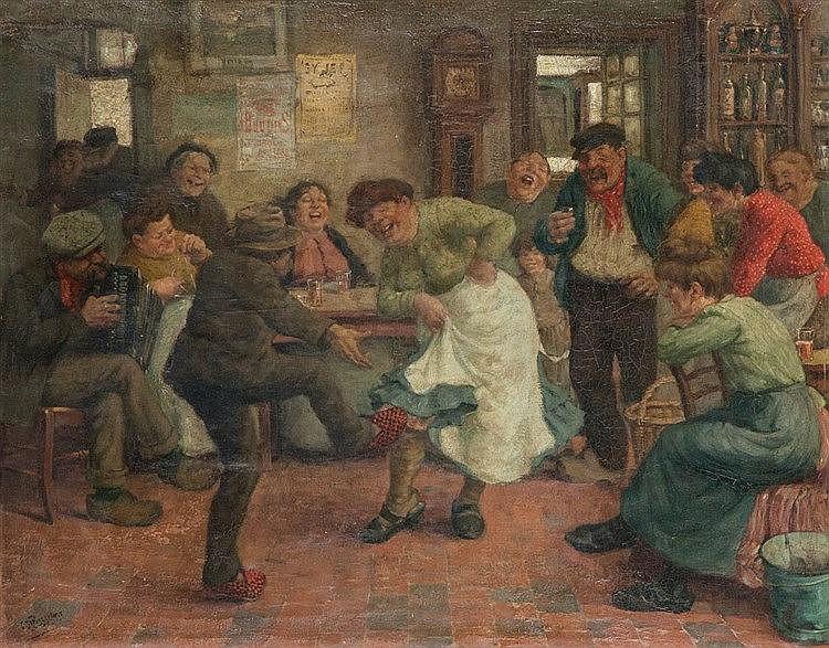 CONSTANT DE BUSSCHERE (1876-1951)