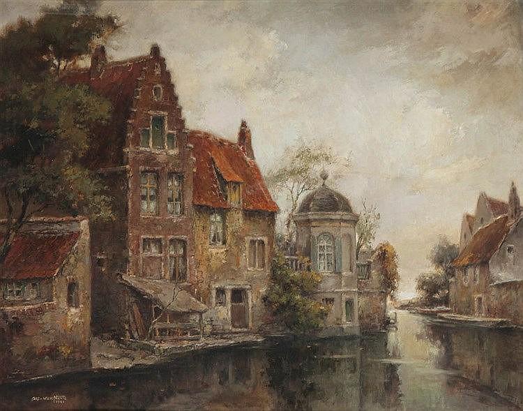 ALFRED VAN NESTE (1874-1969)