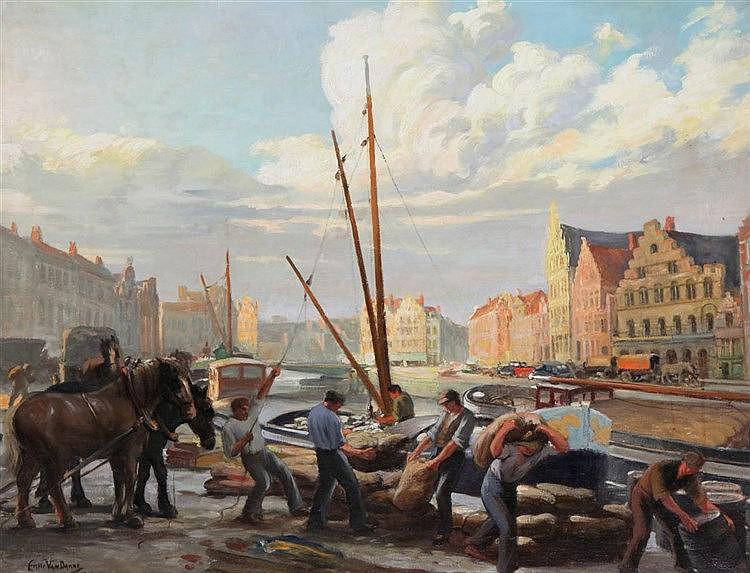 EMIEL VAN DAMME (1885-?)