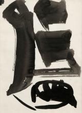 ENGELBERT VAN ANDERLECHT (1918-1961) Zonder titel. Oost-Indische inkt. In kader. 350 x 260 mm