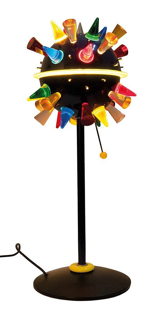 ALESSANDRO MENDINI (1931) / VENINI Table lamp, model Arkab. Design fro