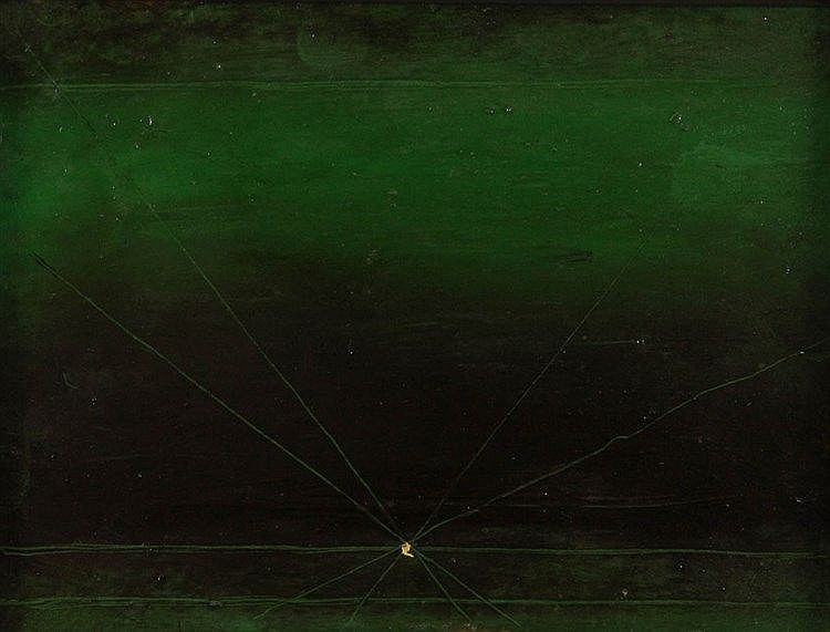 FELIX DE BOECK (1898-1995) Composition. Panel. Signed and dated on the