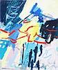 KJELD ULRICH(1942) Composition. Canvas. Signed. 110 x 90, Kjeld Ulrich, €10