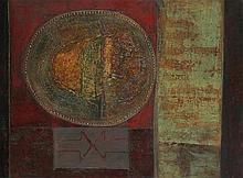 RENAAT IVENS(1935) 'Oude aarde van de olielamp en de pijp. Aarde van d