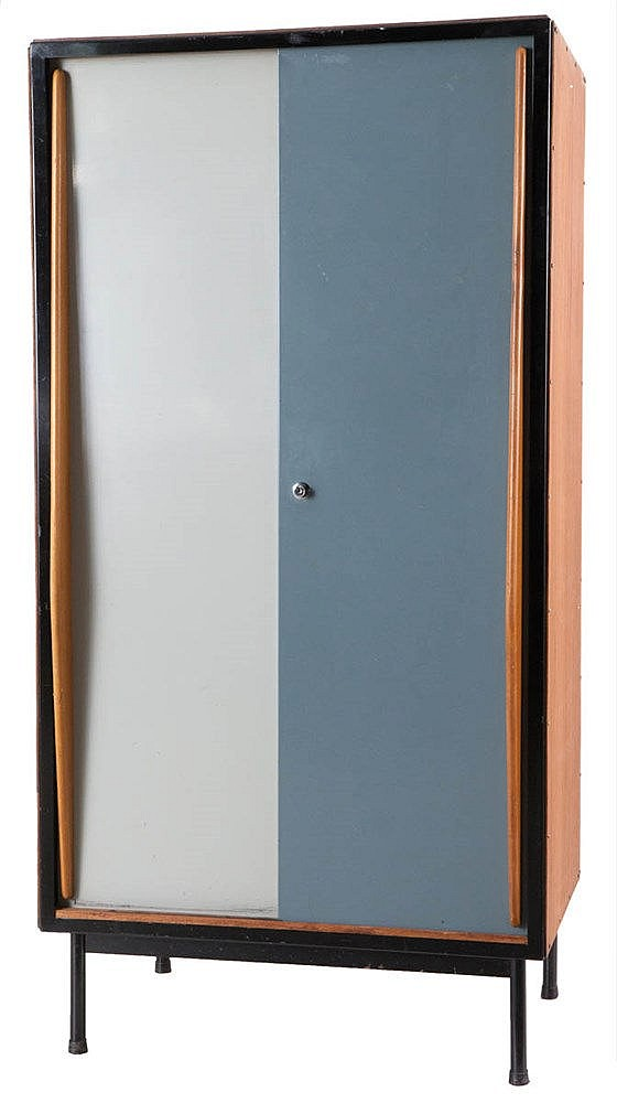 WILLY VAN DER MEEREN (1923-2003) / TUBAX Cupboard, small version, circ
