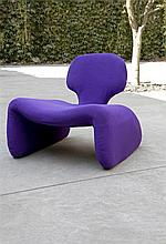 OLIVIER MOURGUE(1939) / AIRBORNE INTERNATIONAL Relax chair model 'djin
