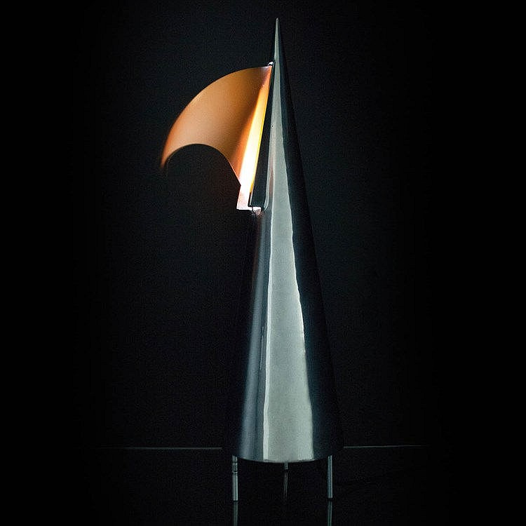 DENIS SANTACHIARA (1950) / DOMODINAMICA Table lamp with ventilation sy