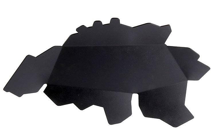 WOUT VERCAMMEN(1938) / THOMAS VAN LIERDE (1979) Bowl in black lacquere