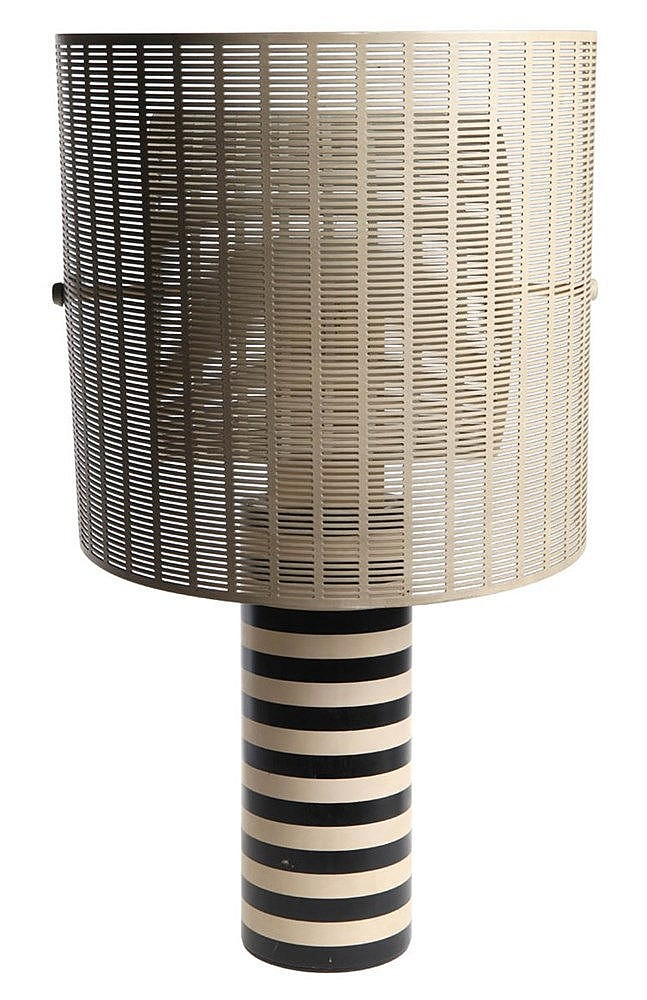 MARIO BOTTA(1943) / ARTEMIDE Table lamp, model Shogun. Design from 198