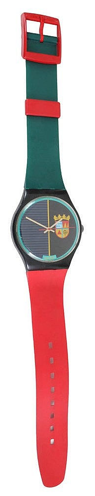 SWATCH SA XX Swatch maxi wall clock. Model 'Sir Swatch' MGB111. Design