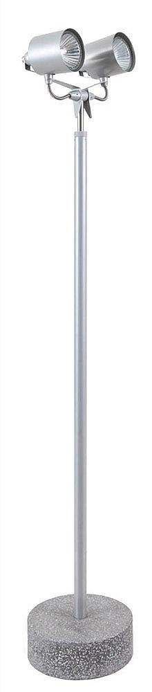 HANNES WETTSTEIN (1958-2008) / PALLUCCO Floor Lamp, 'model Stadium 1'.
