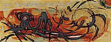 GASPARD DE WIT (1892-1971) 'Eclat de soleil' Tapestry. Signed 'G.