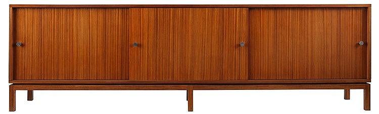 ALFRED HENDRICKX(1931) / BELFORM Sideboard, model N3, circa 1960. Zing