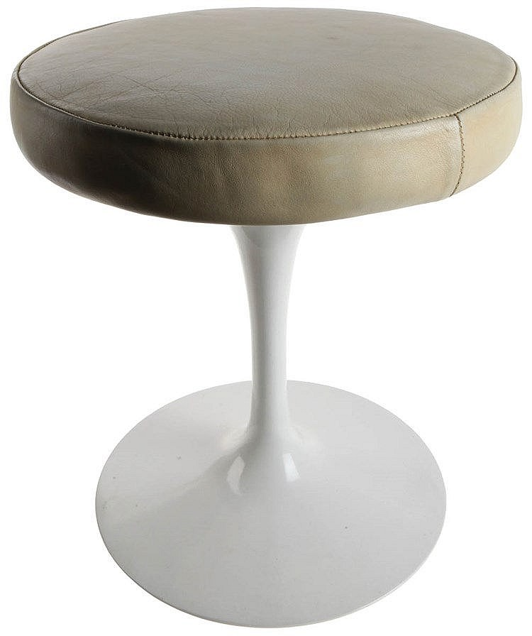 EERO SAARINEN (1910-1961) / KNOLL INTERNATIONAL Stool, circa 1960. Pla