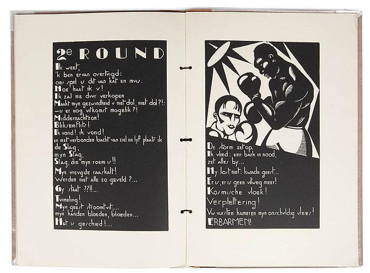 HENRI VAN STRATEN (1892-1944) Woodcut book. One of the 100 numb. copie