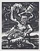 FRED BERVOETS(1942) Strange characters. Etching and aquatint. Signed i, Fred Bervoets, €200