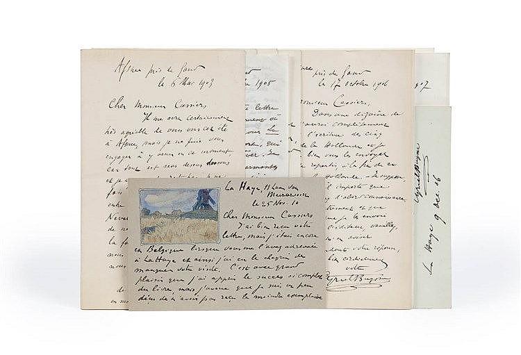 (Buysse - Cassiers) Correspondentie tussen Cyriel Buysse en Henri Cassiers,