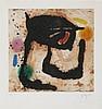 JOAN MIRO (1893-1983) Colour aquatint and carborundum. Signed and numb, Joan Miro, €2,000
