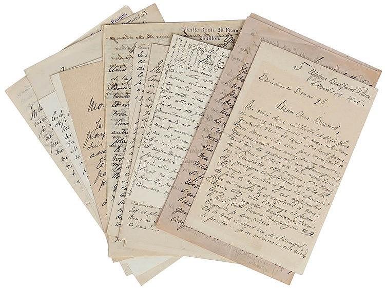 (Van Lerberghe - Brand) Correspondance Charles Van Lerberghe - Brand (Whitl