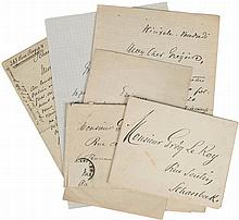 (Van Lerberghe - Le Roy) Correspondance Charles Van Lerberghe - Grégoire Le