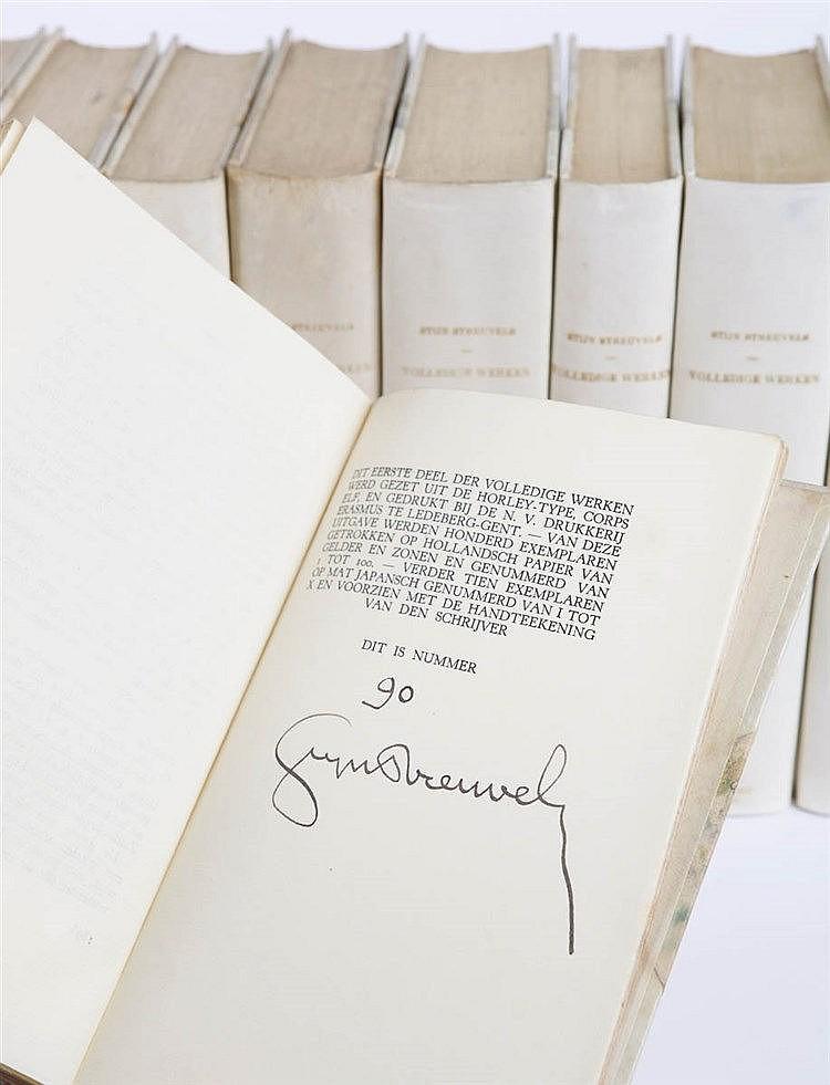 (Streuvels) Stijn Streuvels, Volledige Werken. Kortrijk, 't Leieschip, 1950