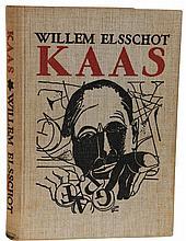 (Elsschot) Willem Elsschot, Kaas. Amsterdam, P.N. Van Kampen & Zoon, (1934)