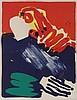 BENGT LINDSTROM (1925-2008) Composition. Colour lithograph. Signed and, Bengt Lindstrom, €200