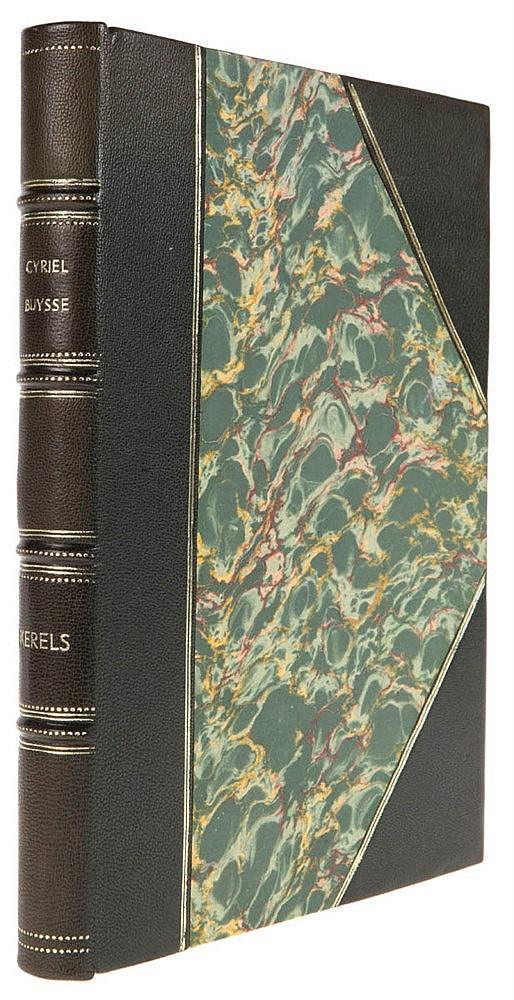 (Buysse) Cyriel Buysse, Kerels. Gent, Van Rysselberghe & Rombaut, 1927. In-