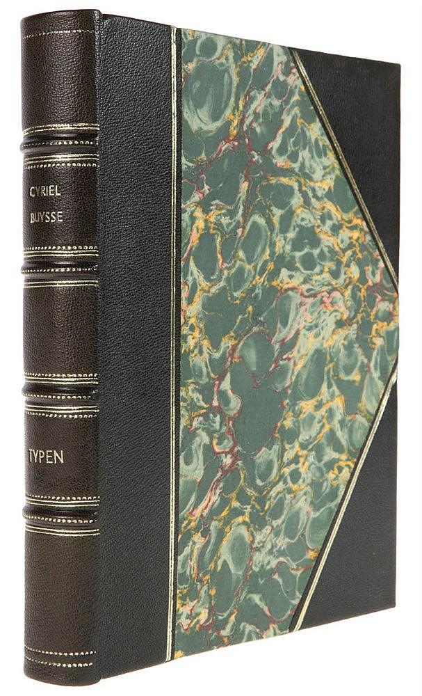 (Buysse) Cyriel Buysse, Typen. Gent, Van Rysselberghe en Rombaut, s.d. In-8