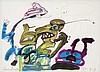 LUCEBERT (1924-1994) Composition. Watercolour, gouache and colour cray,  Lucebert, €2,400