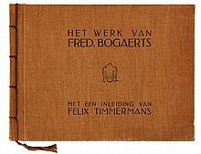(Timmermans/ Bogaerts) Het werk van Fred. Bogaerts. Met een inleiding van F